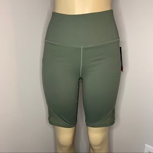 NWT Reebok Fitted High Rise Compression Shorts